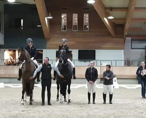 Hoefslag masterclass Dressage2learn Biomechanica paard